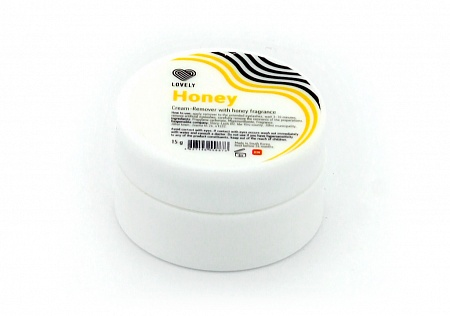Cream-remover Lovely with the aroma of Honey, 15g