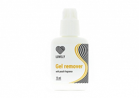 Gel remover Lovely with the aroma of peach, 15 g