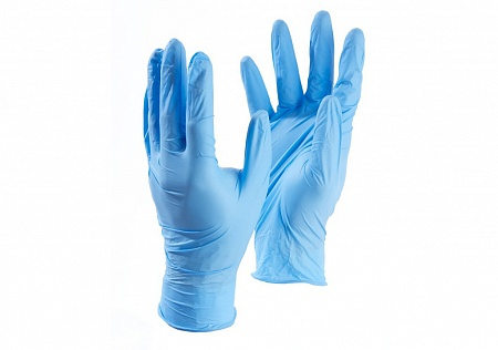 Nitrile gloves (100 pieces)