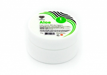 Cream-remover Lovely with the aroma Aloe, 15g