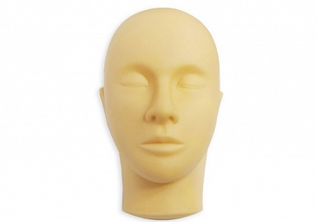 Training mannequin-head for eyelash extension