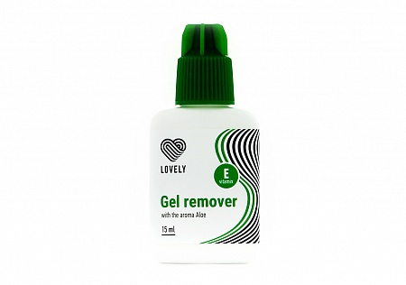Gel remover Lovely with the aroma Aloe, 15g