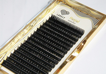 "Eyelash extensisons ""Royal Lashes"" - 16 lines MIX"