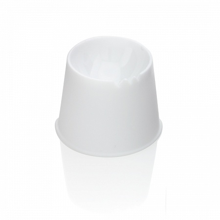 Plastic cup for mixing